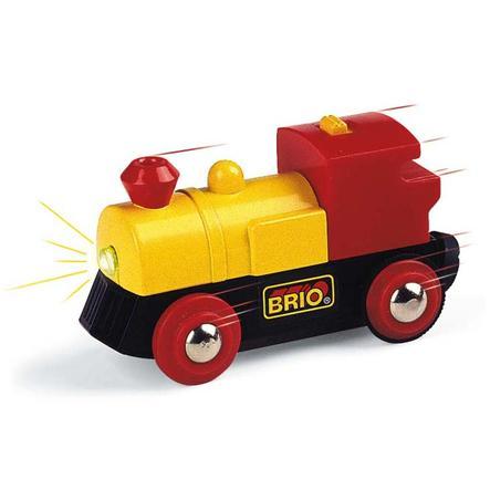 BRIO Lokomotywa zasilana bateryjnie kolor żółty
