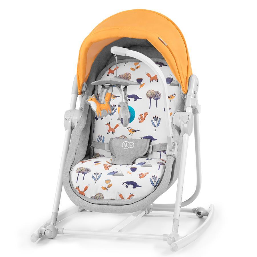 Kinderkraft 5-in-1 Babywiege Unimo 2020 Forest Yellow