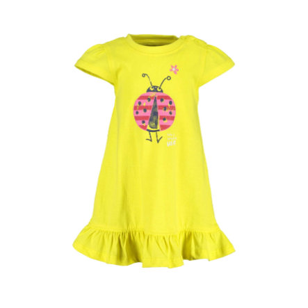 BLUE SEVEN  Girls Gebreide jurk geel Original