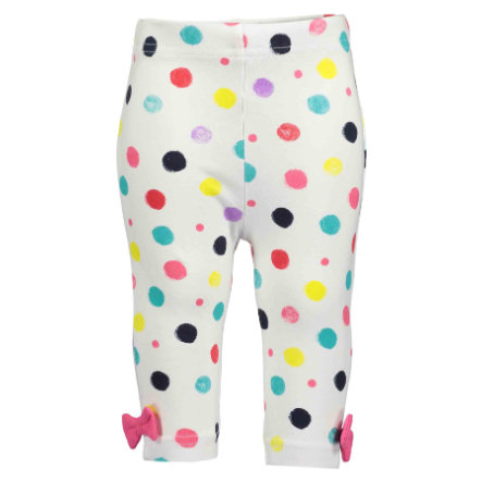 BLUE SEVEN  Girls Pantalon Capri à pois blancs