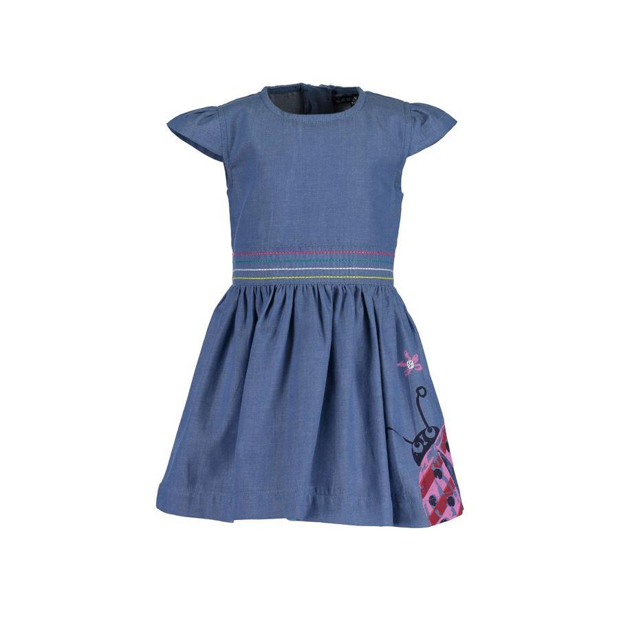 BLUE SEVEN Girls Kleid Jeansblau