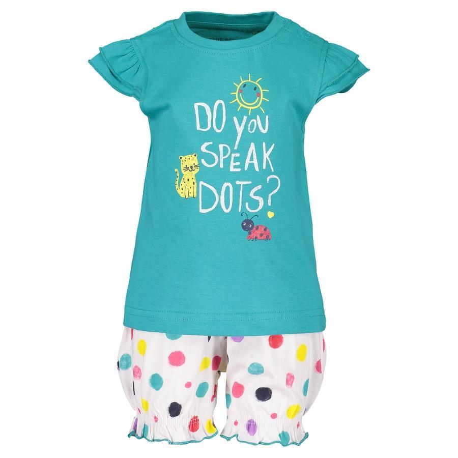 BLUE SEVEN  Girls Set de 2 camisetas + Shorts laguna