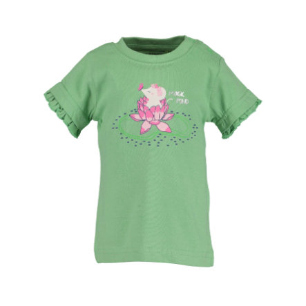 BLÅ SEVEN T-shirt för flickor Ljusgrön original
