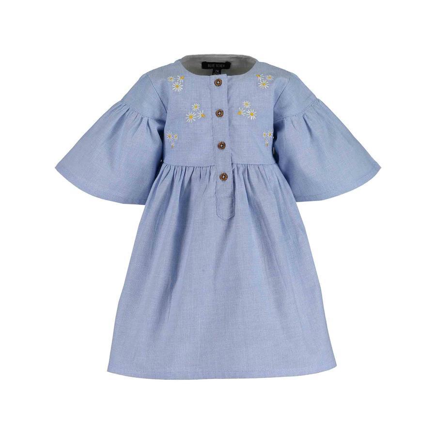 MODRÉ SEDEM Šaty světle modré