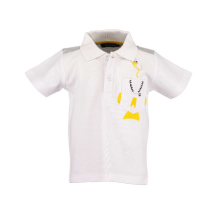 BLUE SEVEN  Chłopcy Poloshirt White