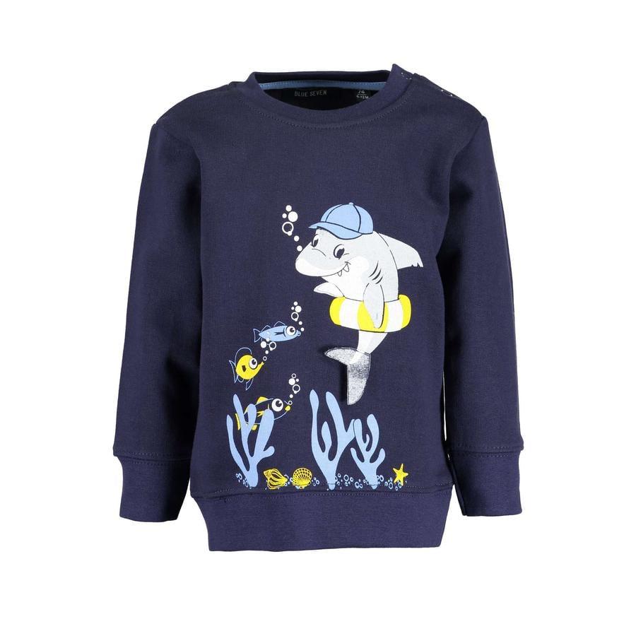 BLUE SEVEN Sweatshirt nattblått