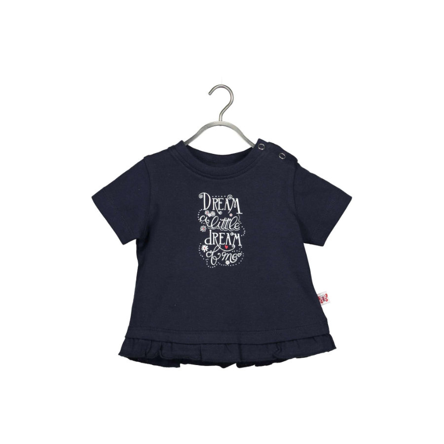 BLUE SEVEN T-skjorte Butterfly Dark Blue