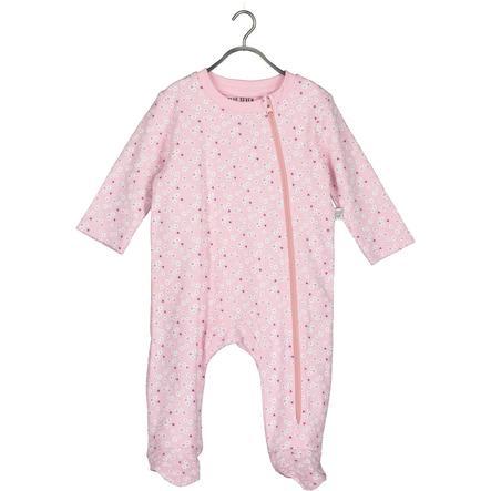 BLUE SEVEN Baby Girls romper suit pink flower