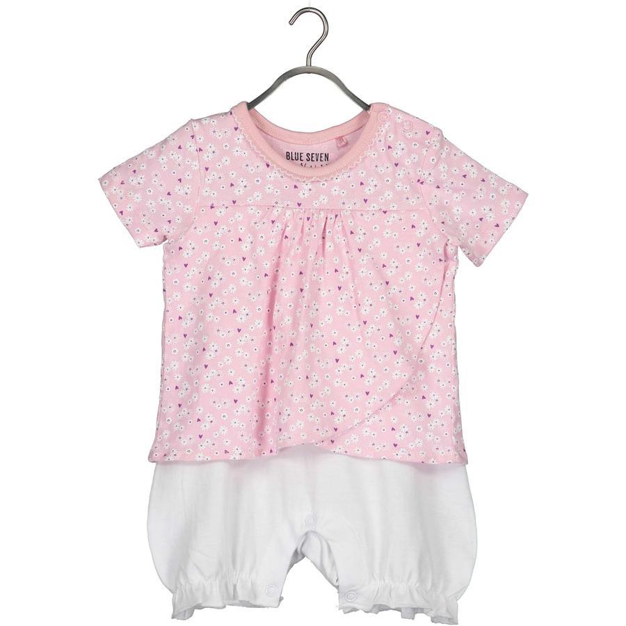 BLUE SEVEN Baby Girls Player Pink Flower