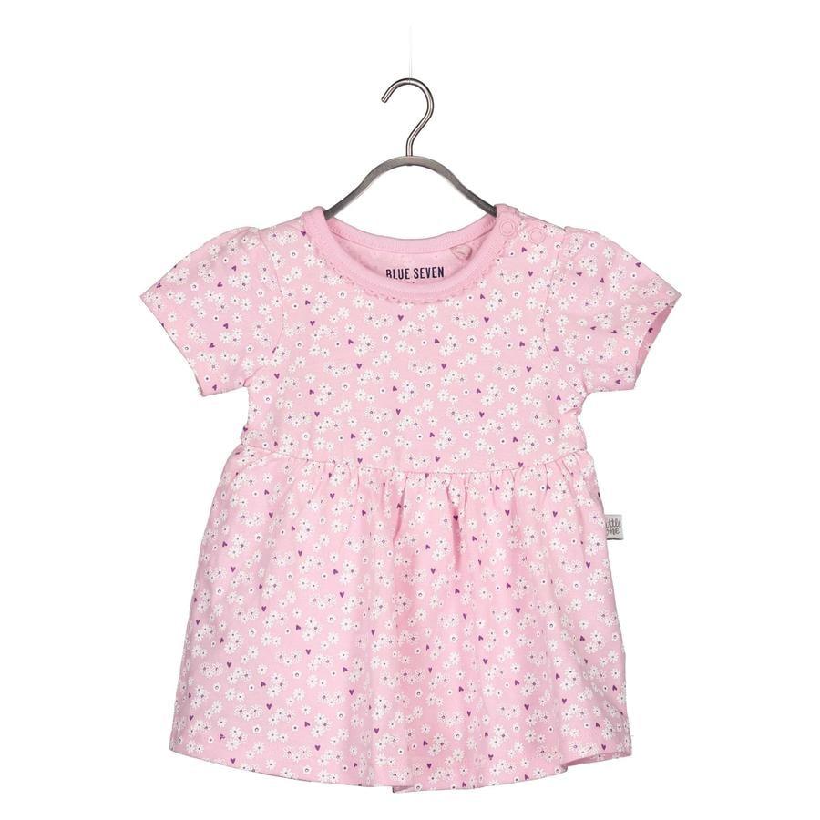 MODRÉ SEDEM Dívčí Body-Dress Pink Flower