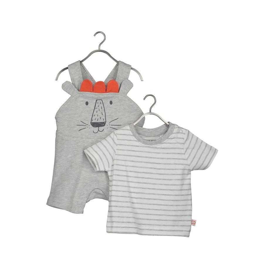 BLUE SEVEN Baby 2er-Set Shirt + Latzhose