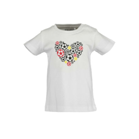 BLUE SEVEN  T-shirt hart wit