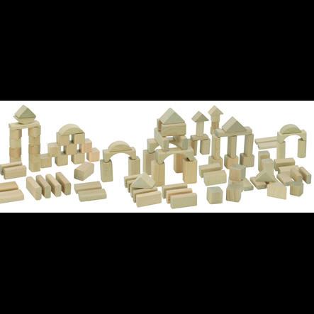 Dřevěné stavební bloky Eichhorn Nature