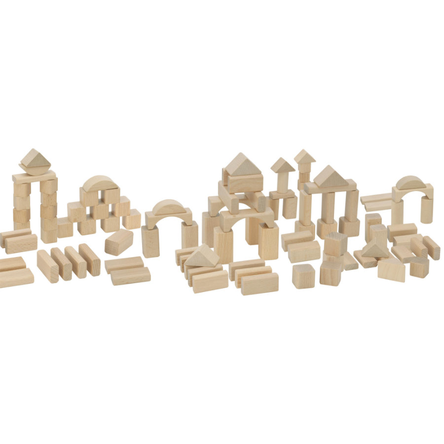 Eichhorn Natur Holzbausteine 100er Set