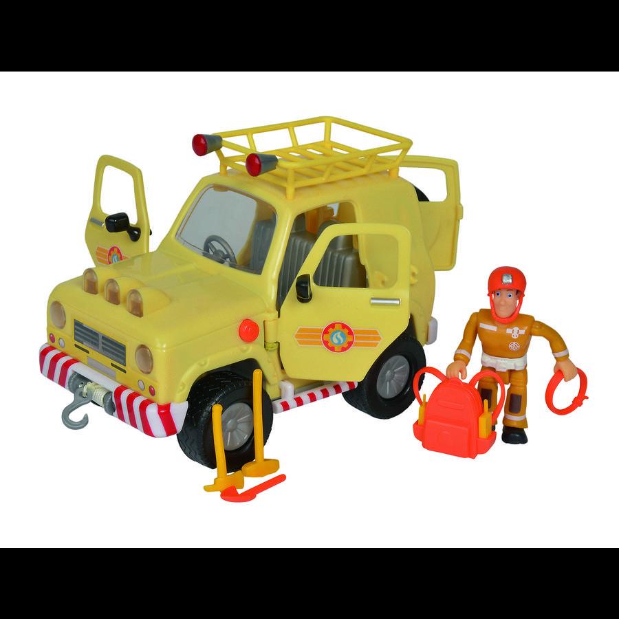 Simba Brandweerman Sam 4 x 4 terreinwagen