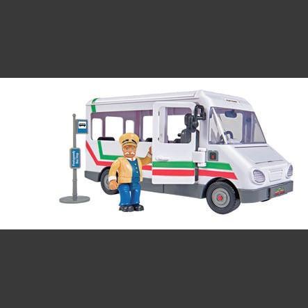 Simba El bombero Sam - el autobús de Trevor con figura