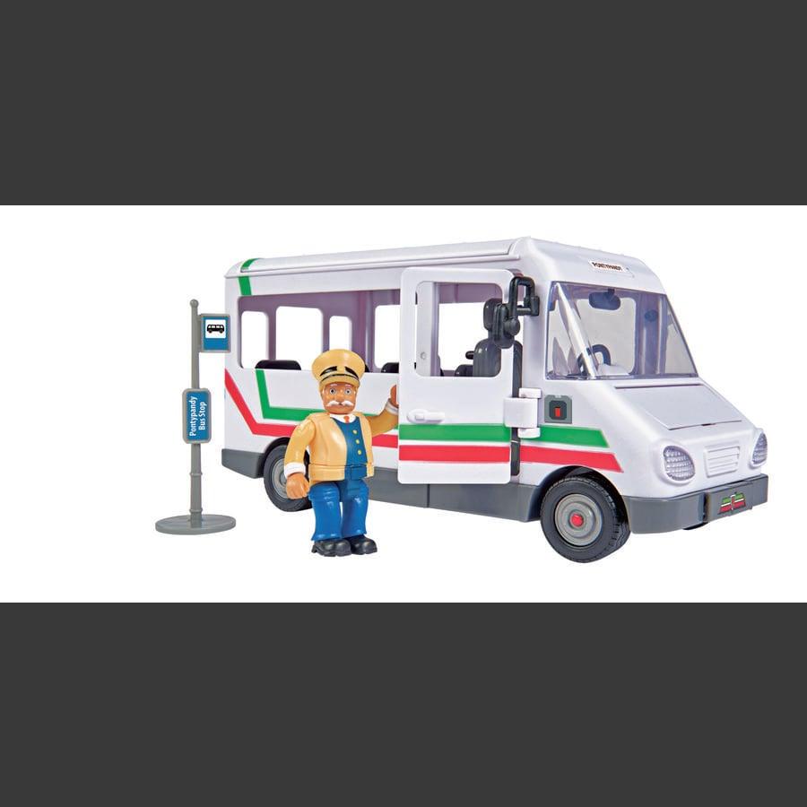 Simba Feuerwehrmann Sam - Trevors Bus mit Figur