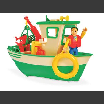 Simba Fireman Sam - Charlies fiskerbåd med figur