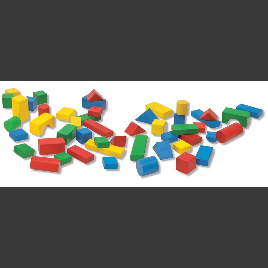 Eichhorn Barevné dětské dřevěné kostky