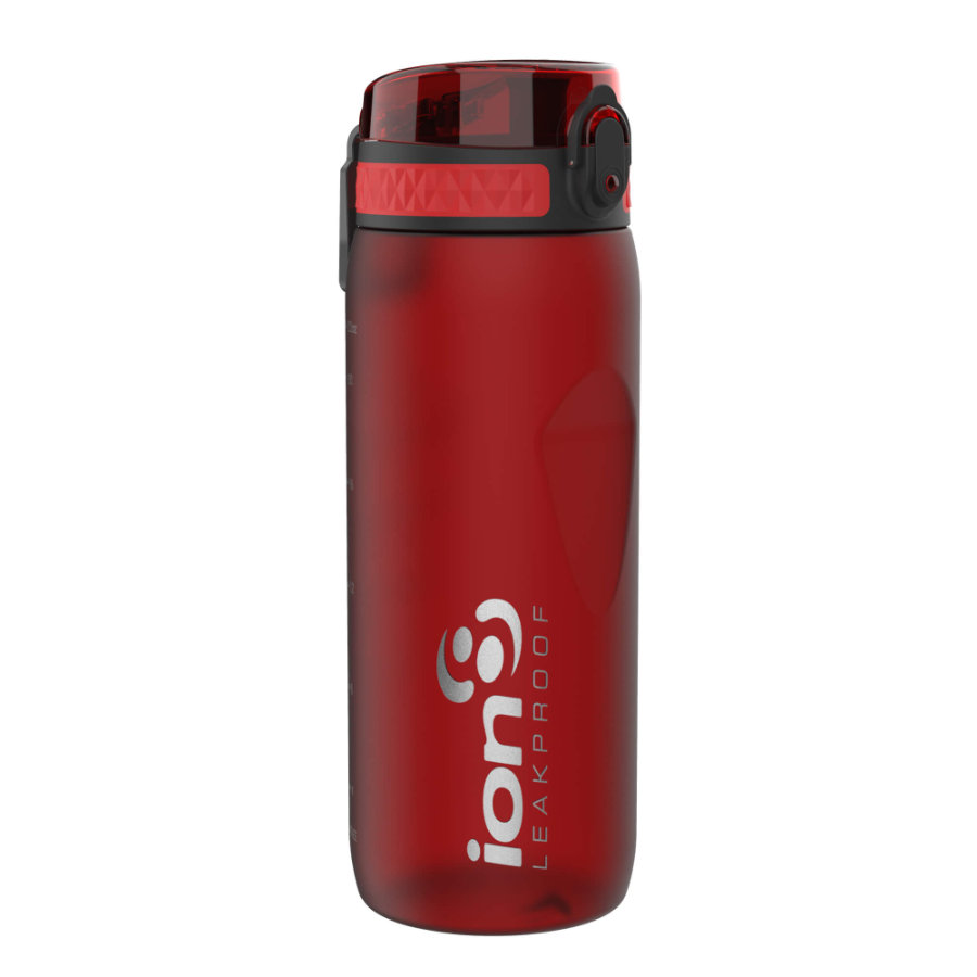 ion 8 auslaufsichere Kindertrinkflasche 750 ml dunkelrot