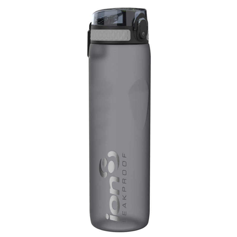 ion 8 auslaufsichere Kindertrinkflasche 1l grau