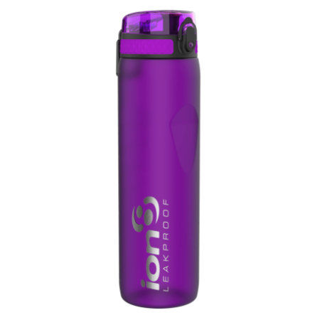 ion 8 auslaufsichere Kindertrinkflasche 1l lila