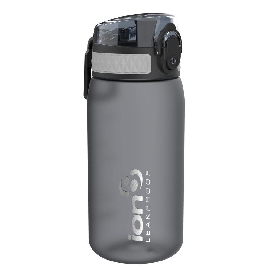 ion 8 auslaufsichere Kindertrinkflasche 350 ml grau