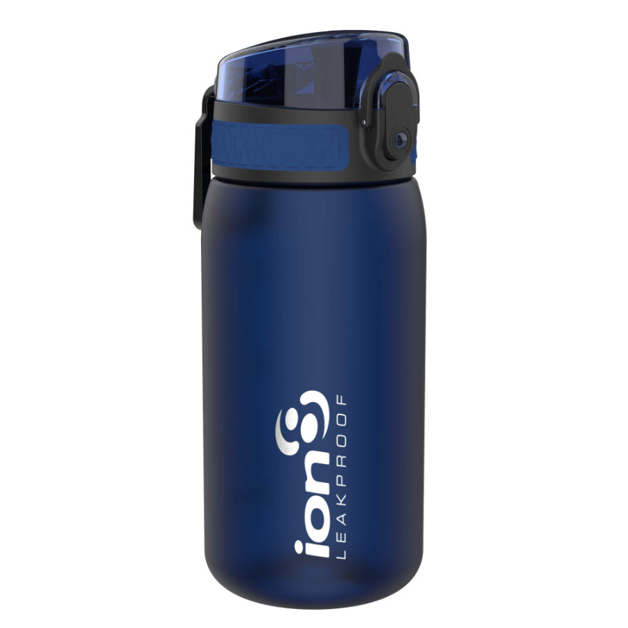 ion 8 auslaufsichere Kindertrinkflasche 350 ml dunkelblau