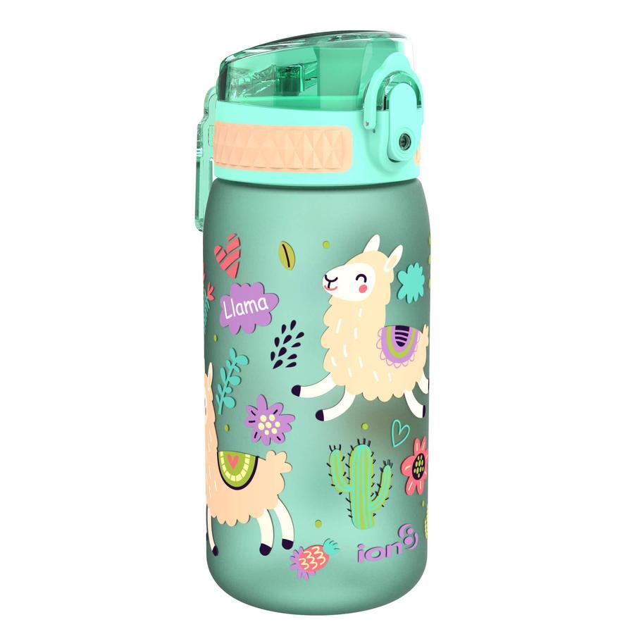 ion 8 auslaufsichere Kindertrinkflasche 350 ml Lamas