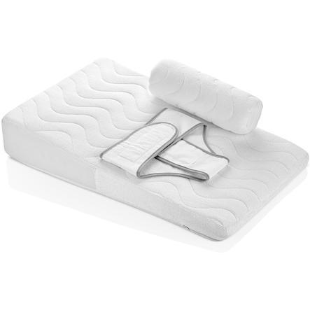 babyJem Baby polštářek s boční ochranou bílá