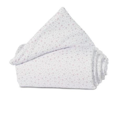 babybay® Nestchen Organic Cotton Original Glitzersterne rosé 149x25 cm