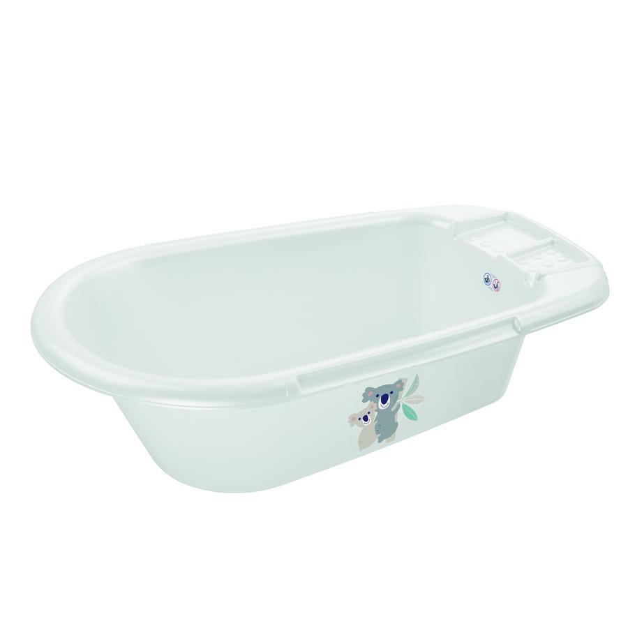 "Rotho Baby design  vasca da bagno B ella  Bambina bianco con Druck "" Koala family "" "" """