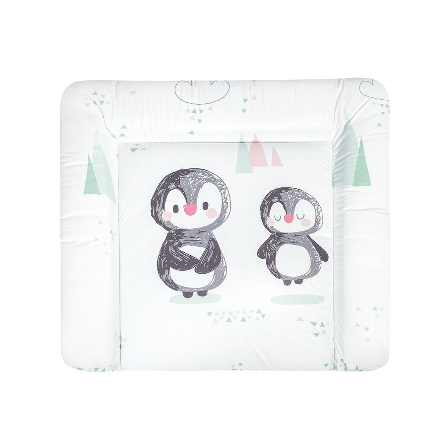 JULIUS ZÖLLNER Aankleedkussen Softy Folie Pinguin 85 x 75 cm
