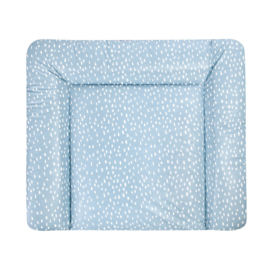 JULIUS ZÖLLNER Materassino per fasciatoio Softy Tiny Squares Greenery 65 x 75 cm