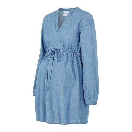 mama licious Tunika dla kobiet w ciąży MLXANDRA Light Blue