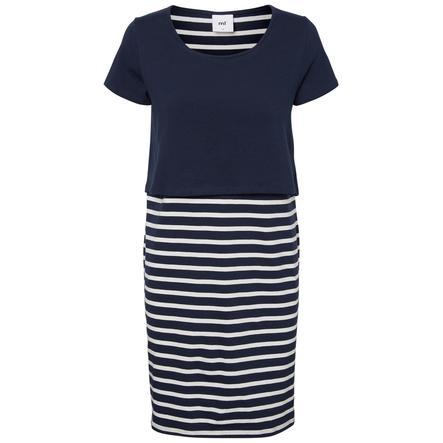 mamma  ondskapsfull ammende kjole MLLEA Navy Blazer / Snow White