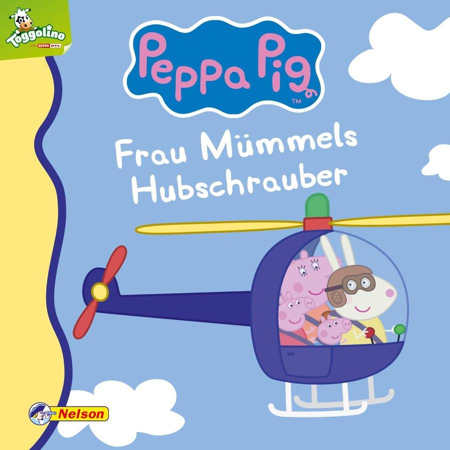 Nelson Maxi-Mini 45: Peppa Pig, Frau Mümmels Hubschrauber