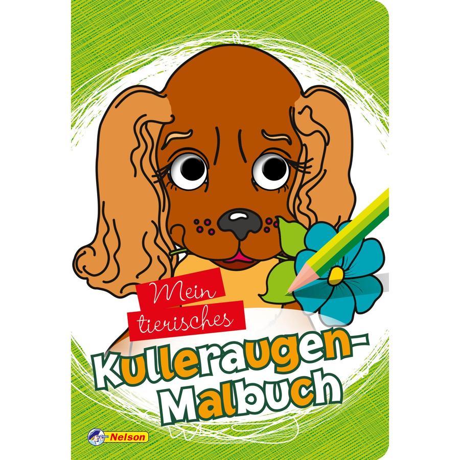 Nelson Mein tierisches Kulleraugen-Malbuch