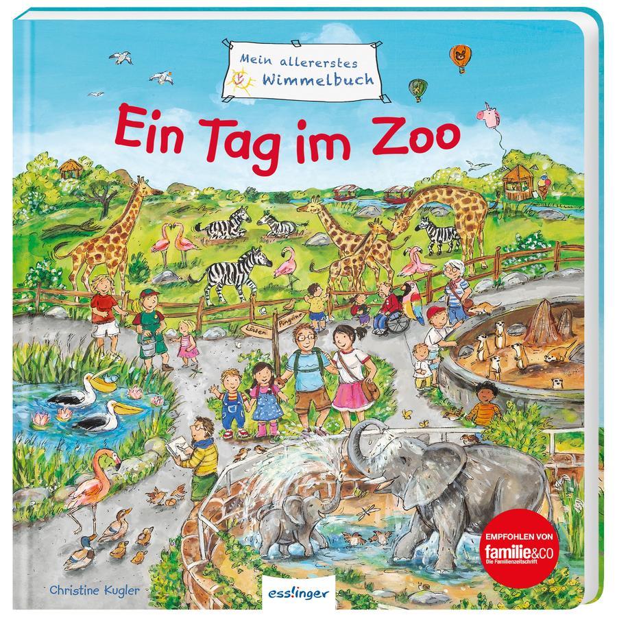 Esslinger Mein allererstes Wimmelbuch - Ein Tag im Zoo