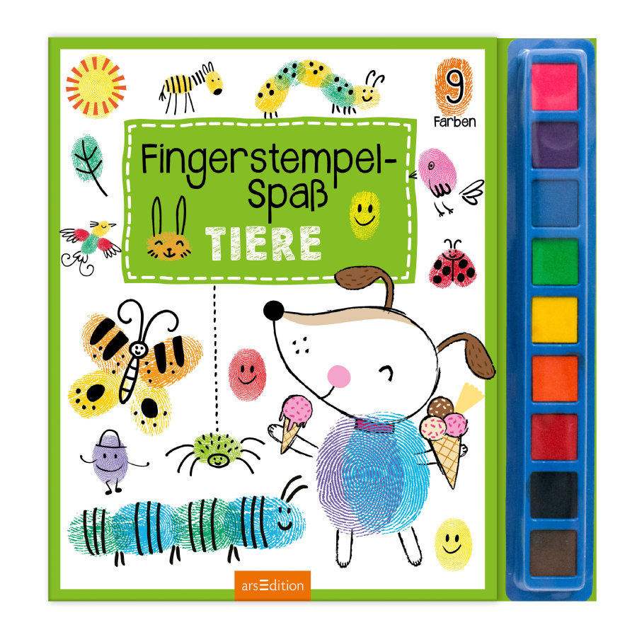 arsEdition Fingerstempel Spaß - Tiere