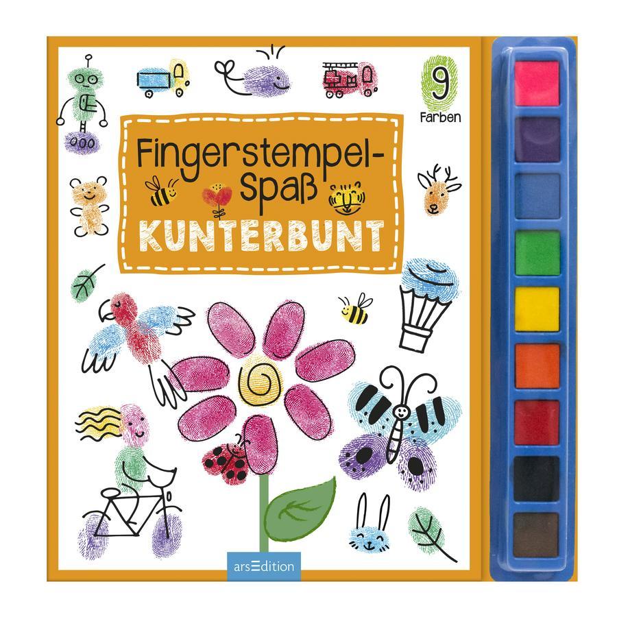 arsEdition Fingerstempel Spaß - Kunterbunt