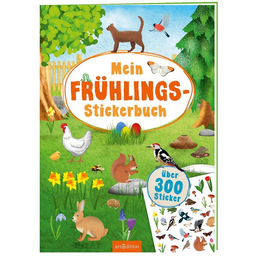 arsEdition Mein Frühlings-Stickerbuch
