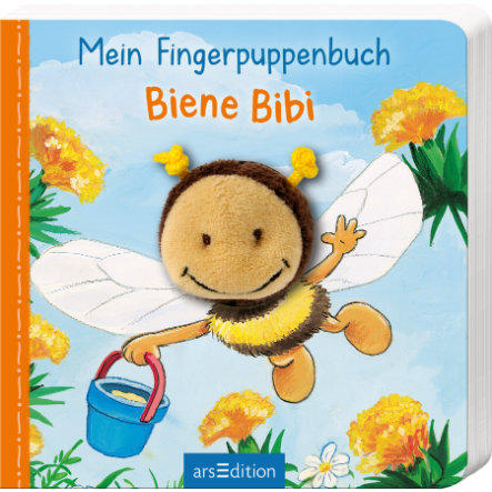 arsEdition Mein Fingerpuppenbuch - Biene Bibi