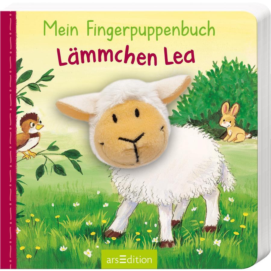 arsEdition Mein Fingerpuppenbuch - Lämmchen Lea