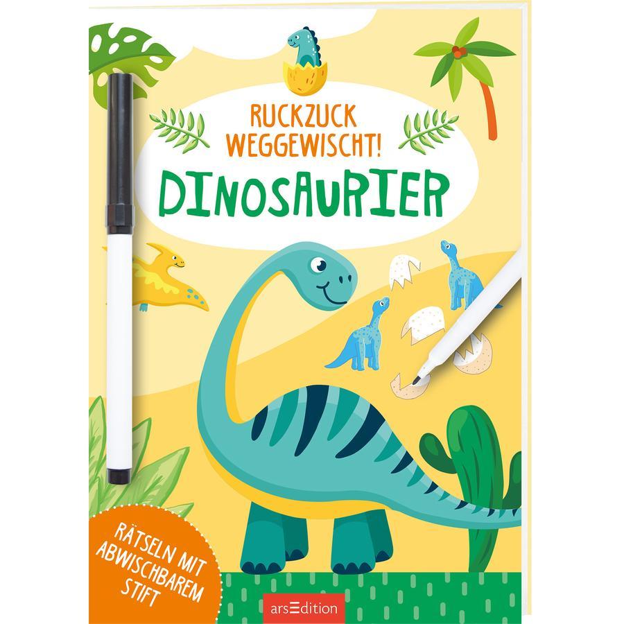 arsEdition Ruckzuck weggewischt! - Dinosaurier