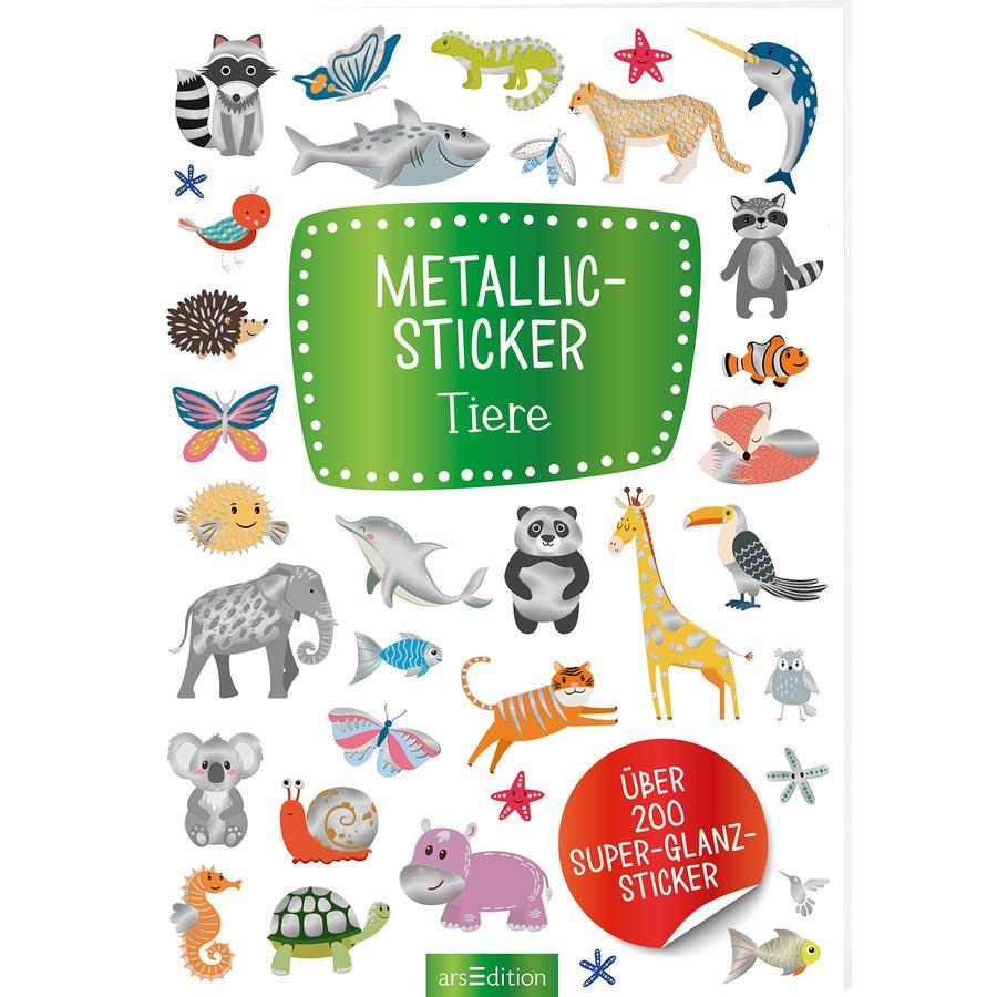 arsEdition Metallic-Sticker Tiere