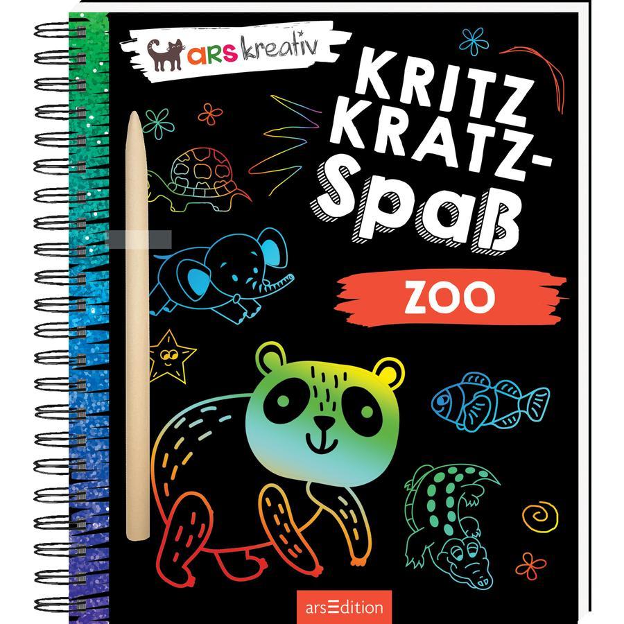 arsEdition Kritzkratz-Spaß Zoo