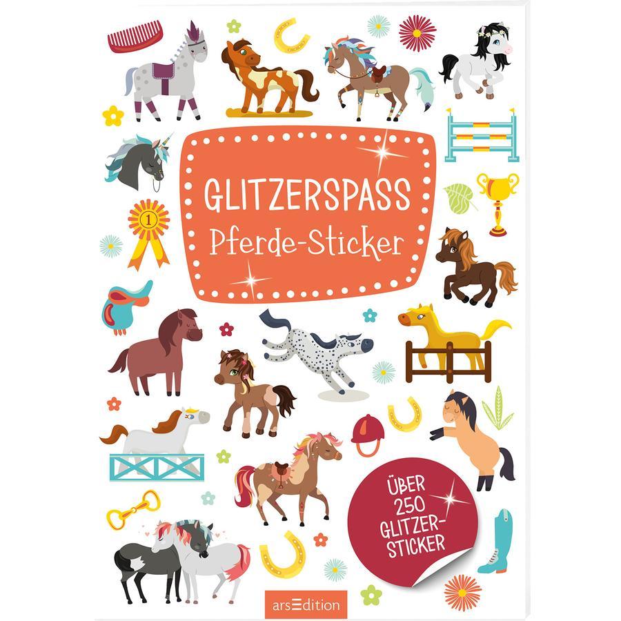 arsEdition Glitzerspaß Pferde-Sticker