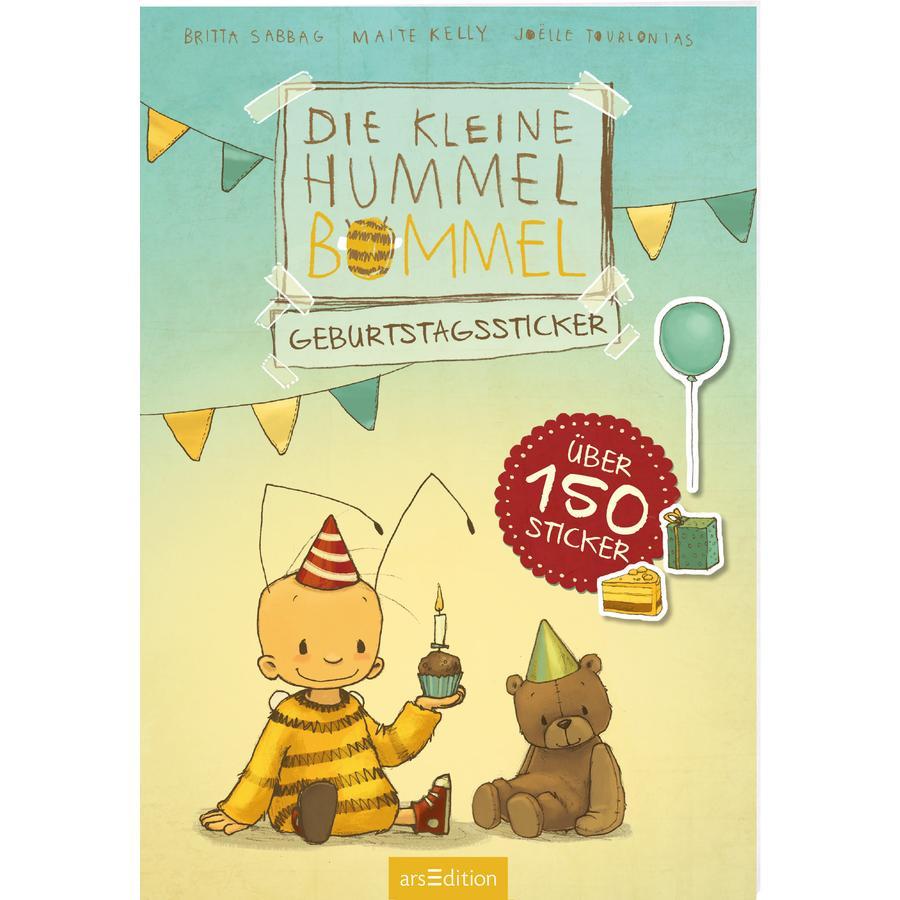arsEdition Die kleine Hummel Bommel - Geburtstagssticker