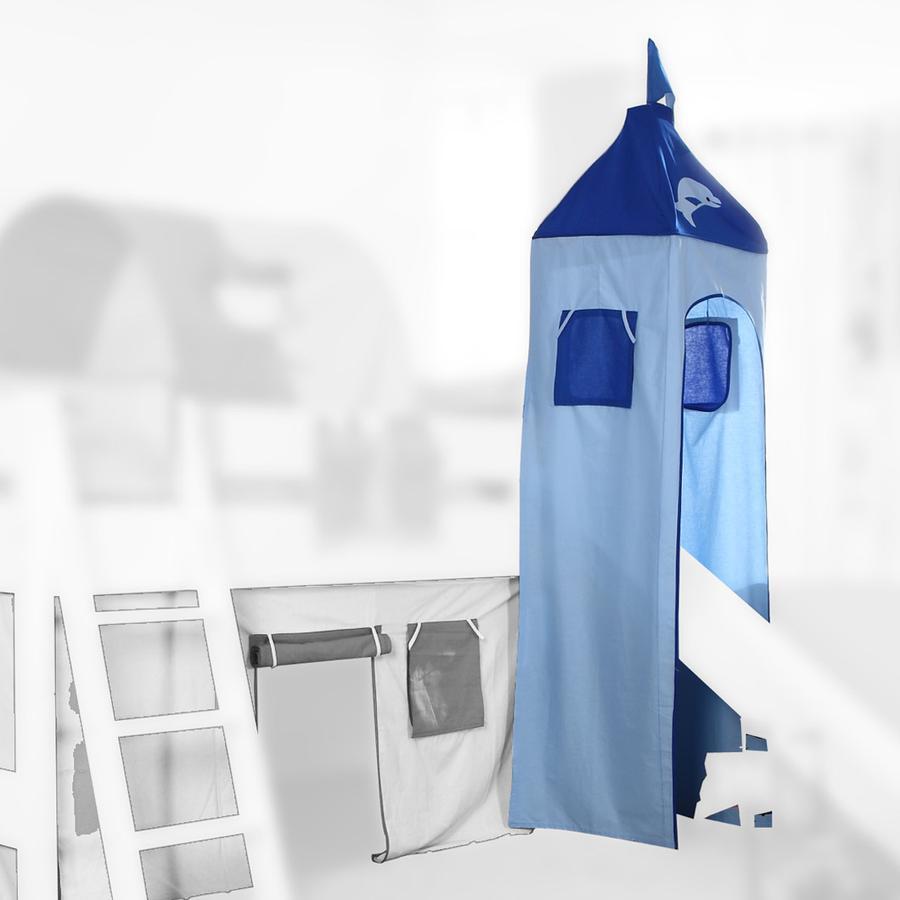 Relita Turm Set klein blau-Delphin